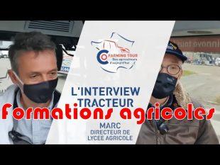 Les formations en agriculture : itw tracteur marc janvier 🚜