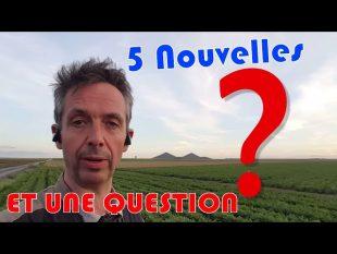 5 infos une question !?!