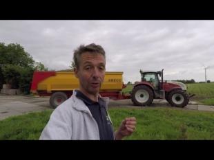 Stockage plant pommes de terre bio en hollande