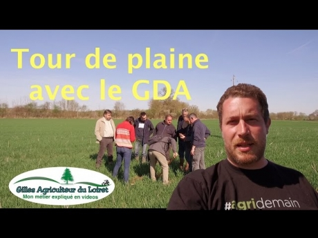 Tour de plaine avec le gda
