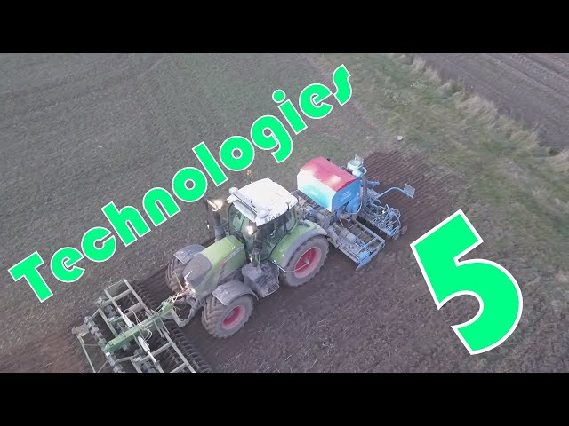 5 technologies de l'agriculture : application au semis de blé