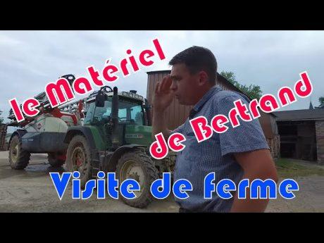Le matériel de bertrand : visite de ferme