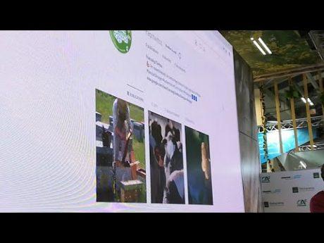 Les france agri twittos en live du sia 2019