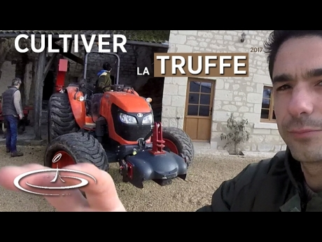 La truffe, visite de l'exploitation de serge desazars – #1/2 – 2017