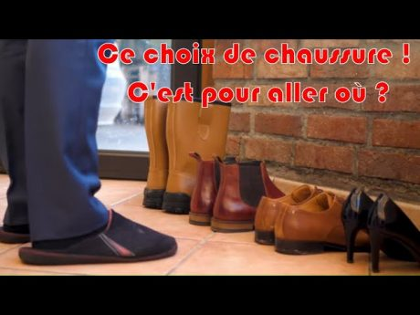 Ce choix de chaussure ! c'est pour aller où ? a suivre …