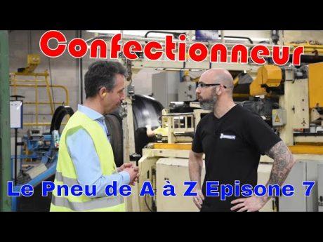 Confectionneur de pneu agricole, le pneu de a à z épisode 7
