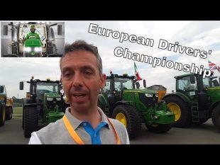 Une championnat de conduite de tracteur : european dirvers' championship
