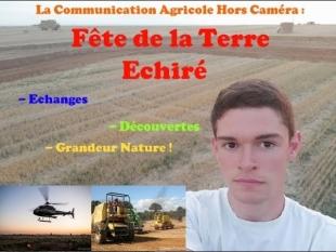 La communication agricole en réel ! – fête de la terre à echiré – [ja79]