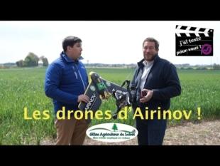 J'ai testé pour vous les drones d'airinov.