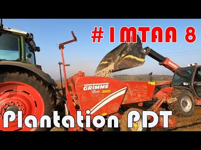Plantation de pomme de terre #1mtaa 8