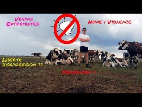 Stop !! rÉaction face au mouvement extrÉmiste vÉgan !!!