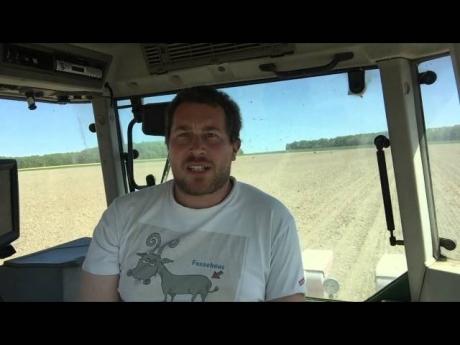 Préparation et semis du maïs dans le loiret (agriculture tracteur semoir #agridemain)