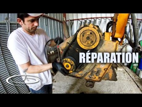 Réparation de l'épareuse – 2017