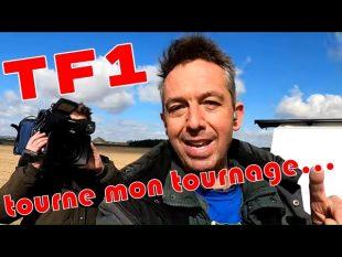 Un tournage de tf1 pendant que je fais une vidéo !!