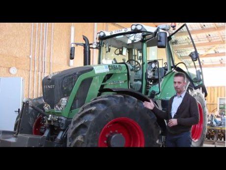 Un tracteur nouvelle génération.