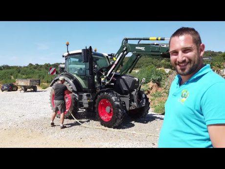 Le matériel de gael blard agriculteur bio