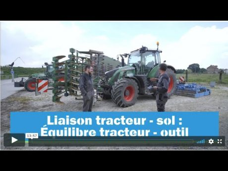 Équilibrer son attelage tracteur outil