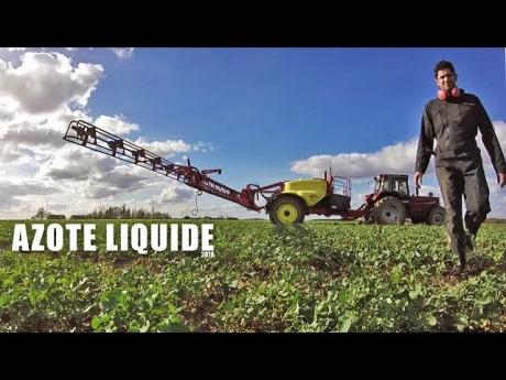 Épandage d'engrais azoté sous forme liquide – 2018