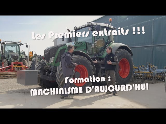 Formation machinisme d'@jourd'hui extraits n°1