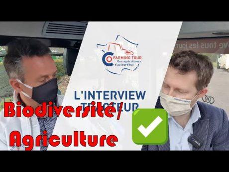 Biodiversité et agriculture : itw tracteur florent vilbert 🚜 florent vilbert