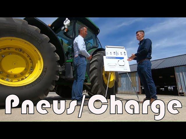 Batteuse et tracteurs, adaptation des pneus à la charge !