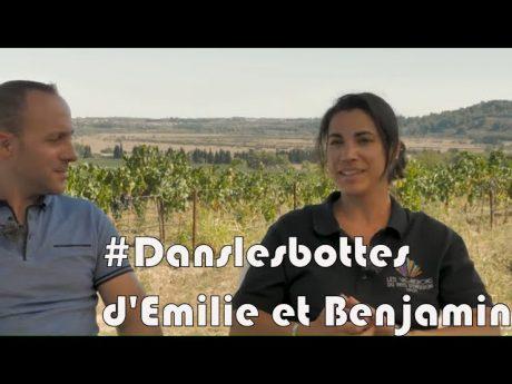 Portrait de emilie et benjamin 🍇 #danslesbottes