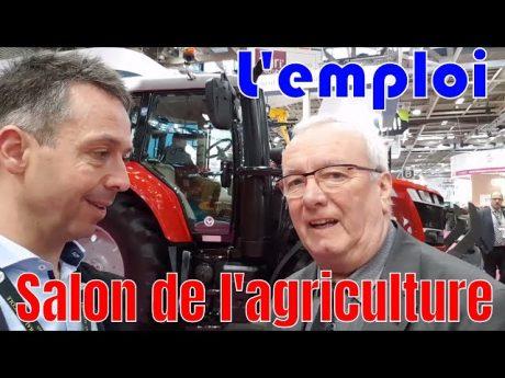 Salon de l'agriculture sous le signe de l'emploi en agriculture