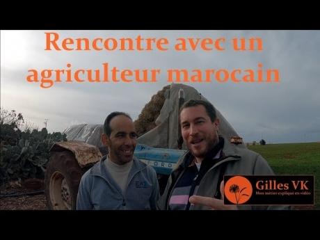 Rencontre avec un agriculteur marocain