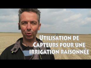 Utilisation de capteurs pour l'irrigation raisonnée