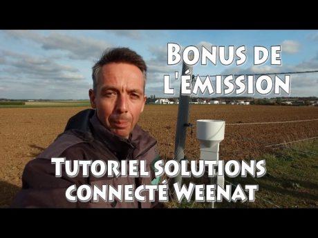 Météo agricole : pluviométre connecté