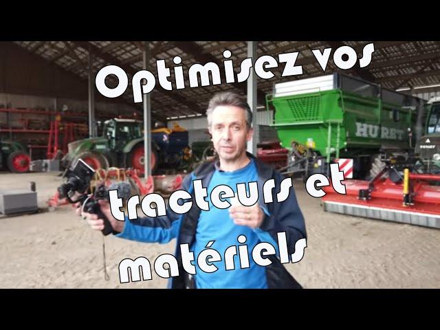Optimisez vos tracteurs et matériels en vous formant !