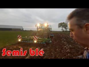 Semis de blé et gps rtk 🚜