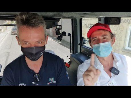 Hervé noiret directeur du groupe ngpa en interview tracteur