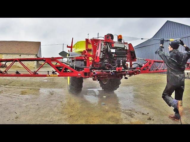 Lavage et graissage du pulvérisateur – 2019