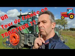 Et si on faisait : un tour de france en tracteur 🚜 #danslesbottes