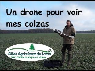Un drone pour voir mes colzas