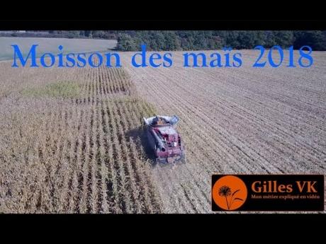 🌽 moisson des maïs 2018 🌽