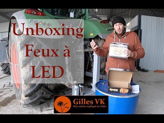 Unboxing : feux à led sans fil