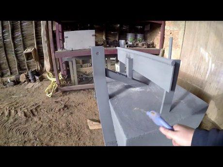 Fabrication d'une masse de tracteur