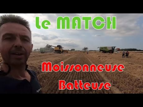 Moissonneuse batteuse : le match claas / new holland