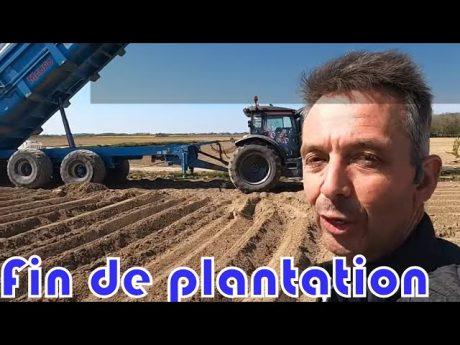 🎥 suite et fin de la plantation des pommes de terre 🤔